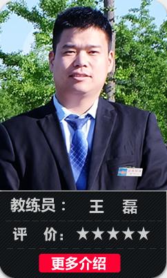 雷厉风行陪练教王磊